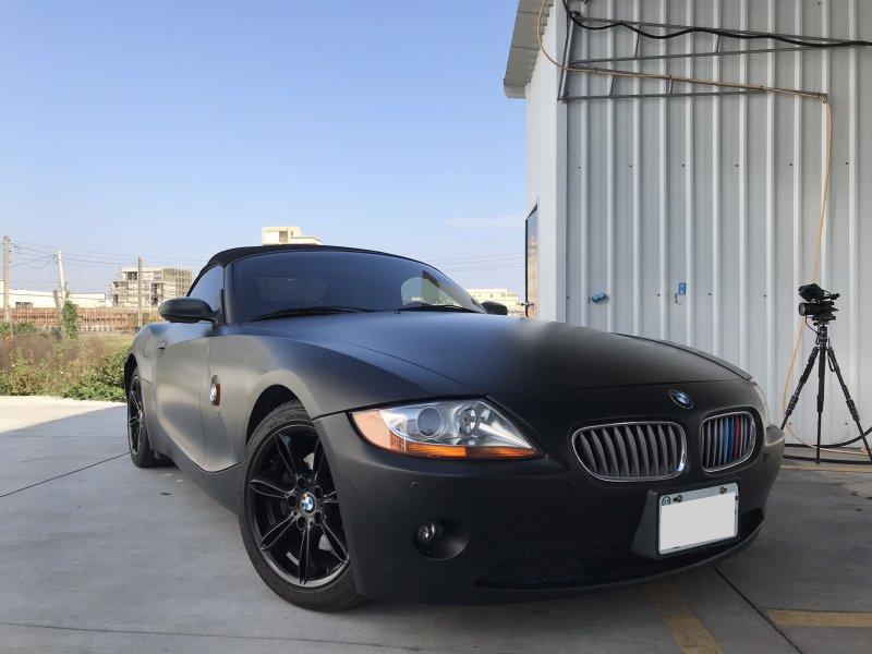 消光黑 BMW