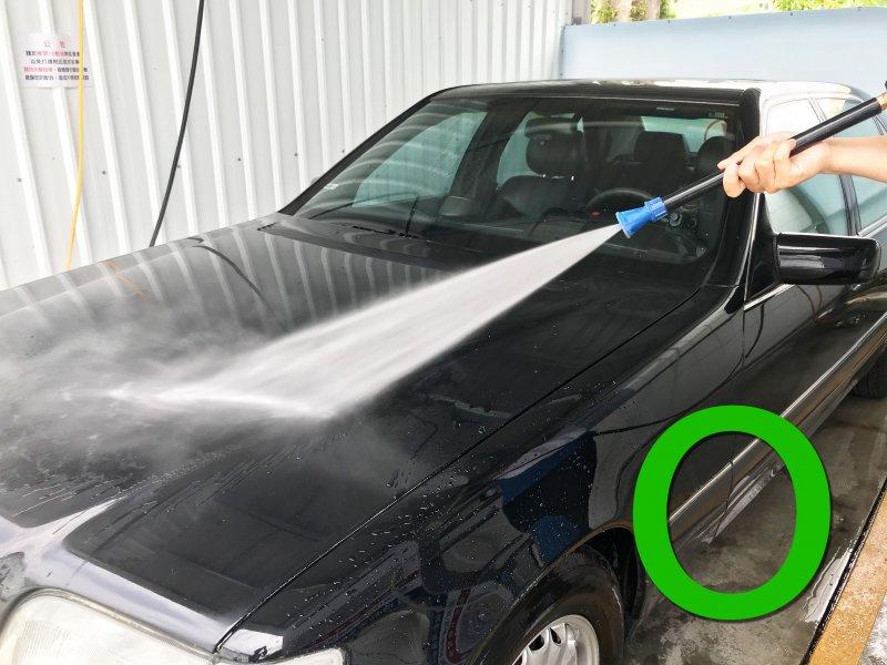 洗車正確行為