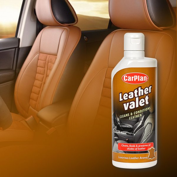 CarPlan卡派爾Leather Valet 皮革保養乳