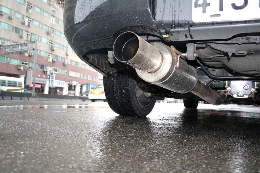 排氣管尾段 示意圖